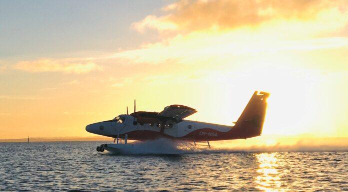 Nordic Seaplanes første afgang efter Corona nedlukningen
